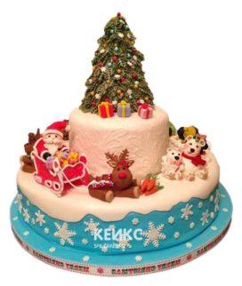 Торт Елка 12