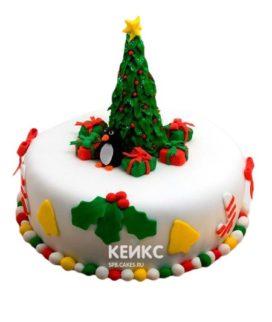 Торт Елка 5