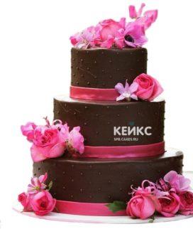 Торт коричневый 10