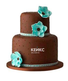 Торт коричневый 11