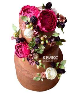 Торт коричневый 12