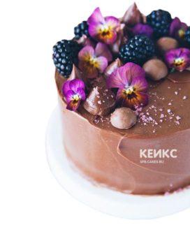 Торт коричневый 4