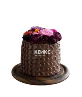 Торт коричневый 5
