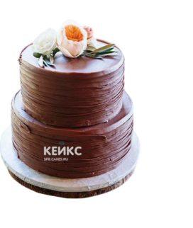 Торт коричневый 6