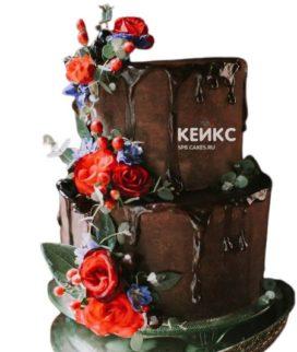 Торт коричневый 7