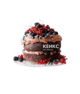 Торт коричневый 9