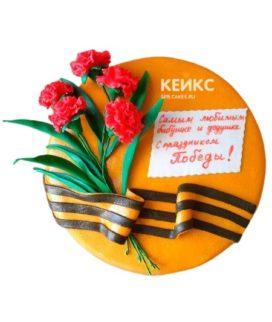 Торт на День Победы 3