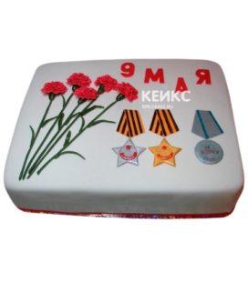 Торт на День Победы 4