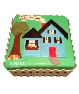 Торт на новоселье 7