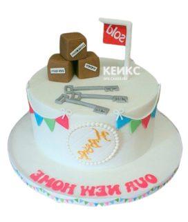 Торт на новоселье 8