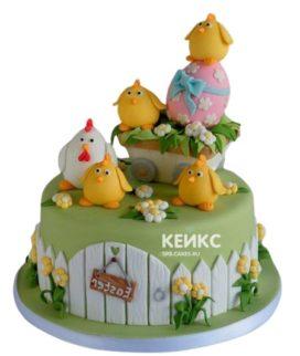 Торт на пасху 8
