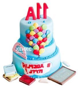 Торт на выпускной 11 класс 4