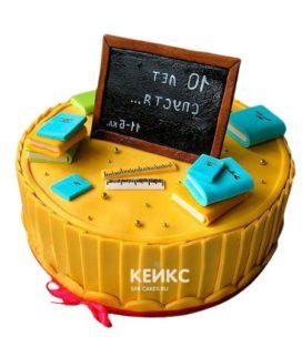 Торт на выпускной 11 класс 6