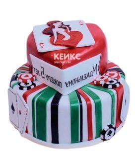 Торт с логотипом 11