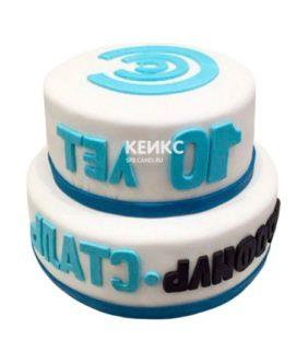 Торт с логотипом 16