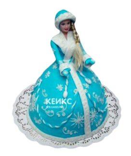 Торт Снегурочка 1