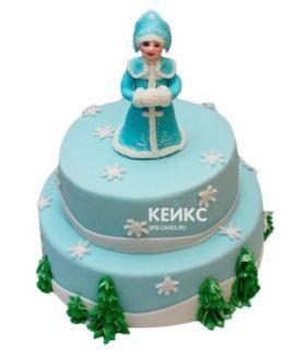Торт Снегурочка 2