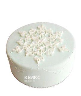 Торт Снежинка