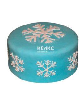 Торт Снежинка 2