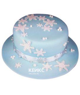 Торт Снежинка 3