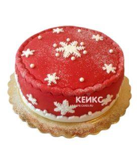 Торт Снежинка 5