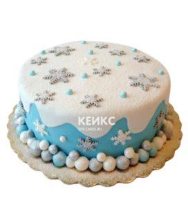 Торт Снежинка 6