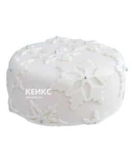 Торт Снежинка 7