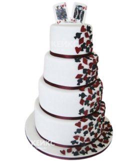 Свадебный Торт в стиле Чикаго 1