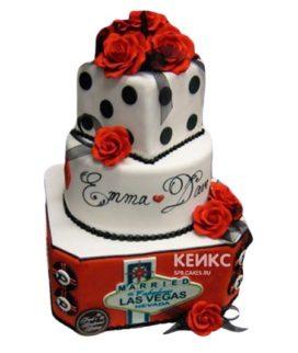 Свадебный Торт в стиле Чикаго 2