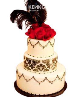 Свадебный Торт в стиле Чикаго 4