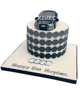 Торт Ауди 10