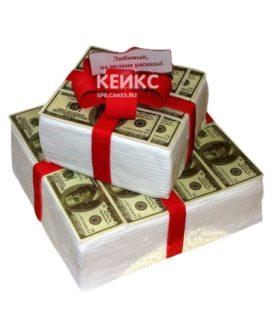 Торт Деньги 3