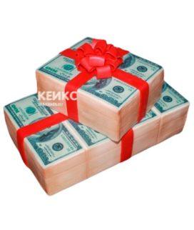 Торт Деньги 4
