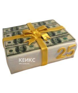 Торт Деньги 8