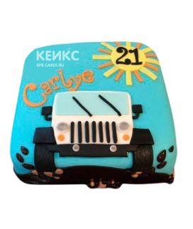 Торт Джип 5