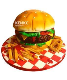 Торт Гамбургер 10