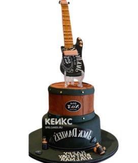 Торт Гитара 10