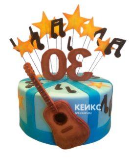 Торт Гитара 11