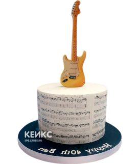 Торт Гитара 13
