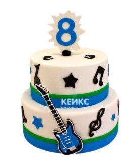 Торт Гитара 14