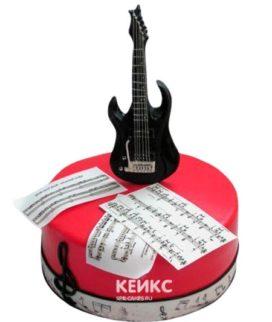 Торт Гитара 16