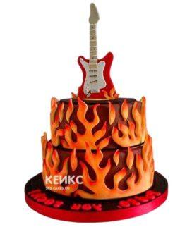 Торт Гитара 20