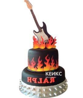 Торт Гитара 22