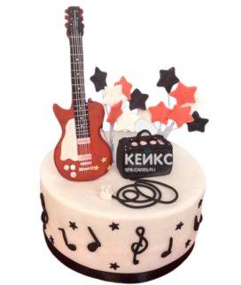 Торт Гитара 25