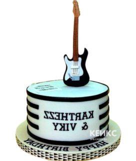 Торт Гитара 27