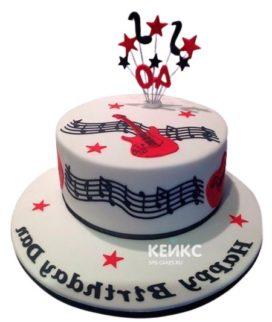 Торт Гитара 28