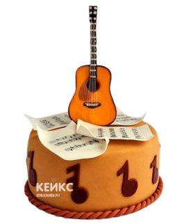Торт Гитара 29