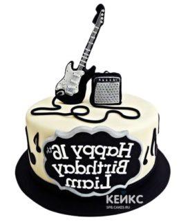 Торт Гитара 5
