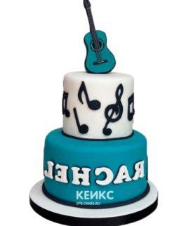 Торт Гитара 6