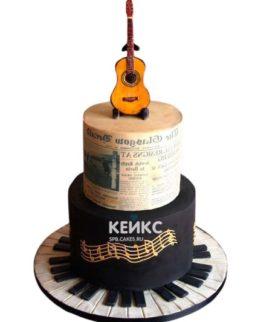 Торт Гитара 7